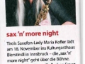 weekend saxnight maria 161015