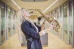 Saxophonistin Maria Kofler